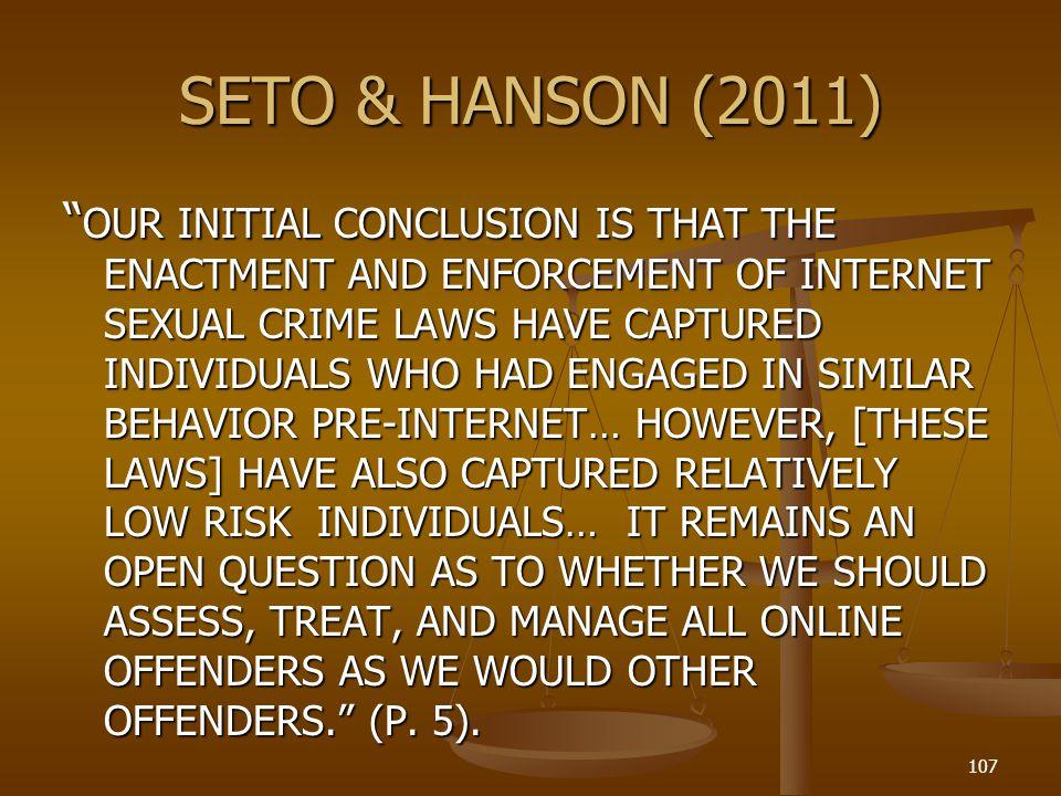 SETO & HANSON (2011)