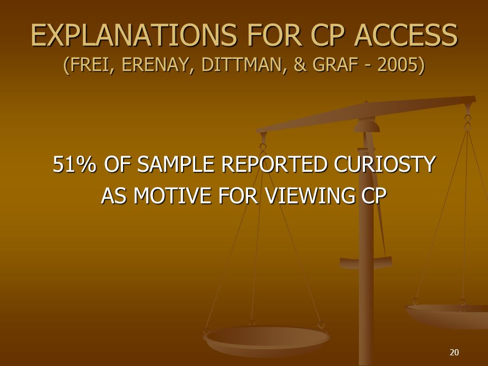 EXPLANATIONS FOR CP ACCESS (FREI, ERENAY, DITTMAN, & GRAF - 2005)