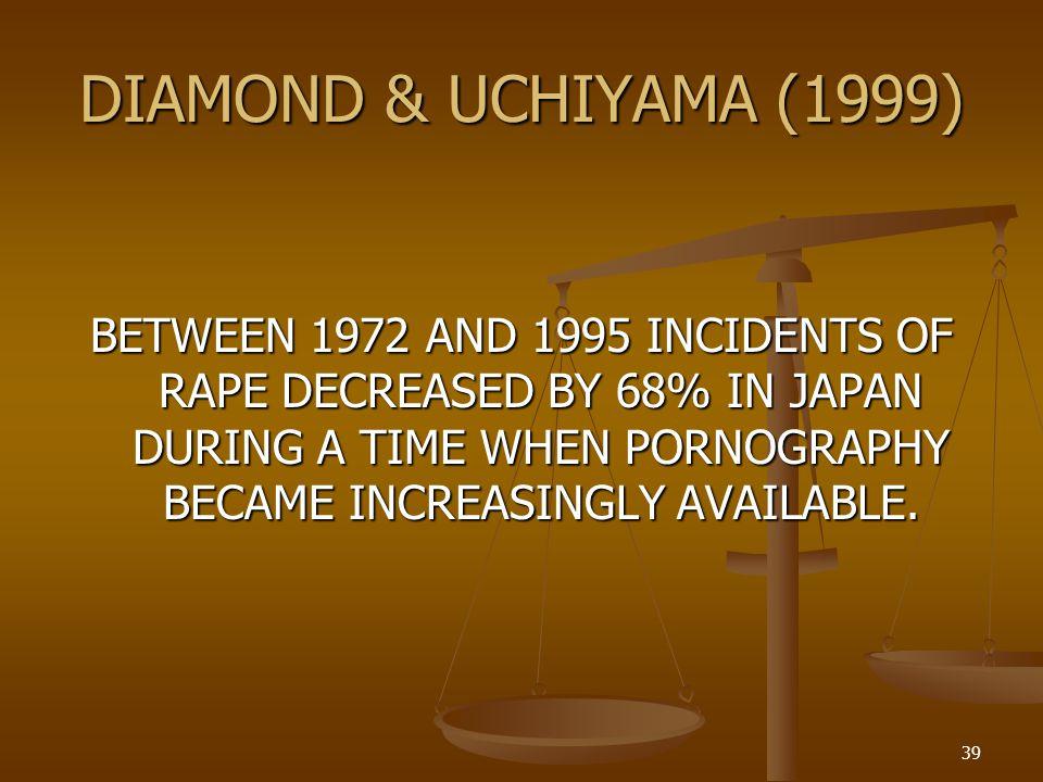 DIAMOND & UCHIYAMA (1999)