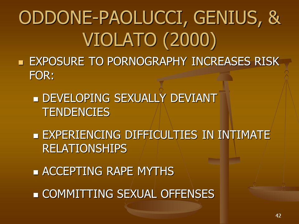 ODDONE-PAOLUCCI, GENIUS, & VIOLATO (2000)