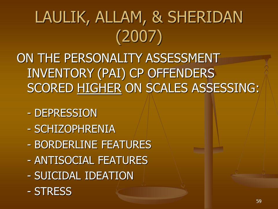 LAULIK, ALLAM, & SHERIDAN (2007)