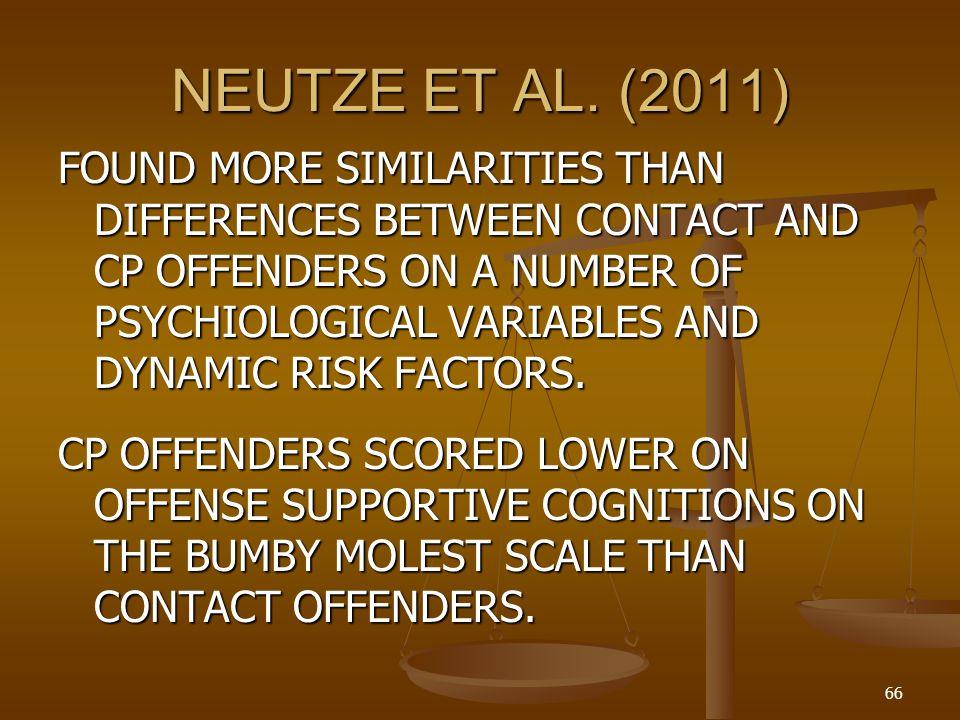 NEUTZE ET AL. (2011)