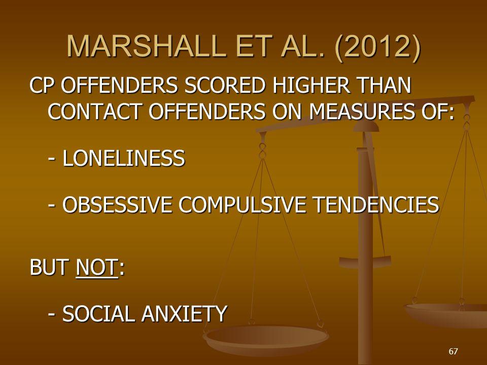 MARSHALL ET AL. (2012)