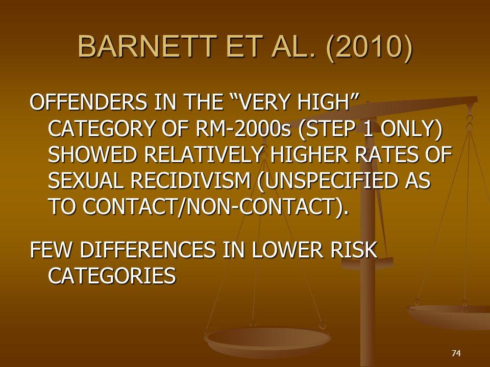 BARNETT ET AL. (2010)