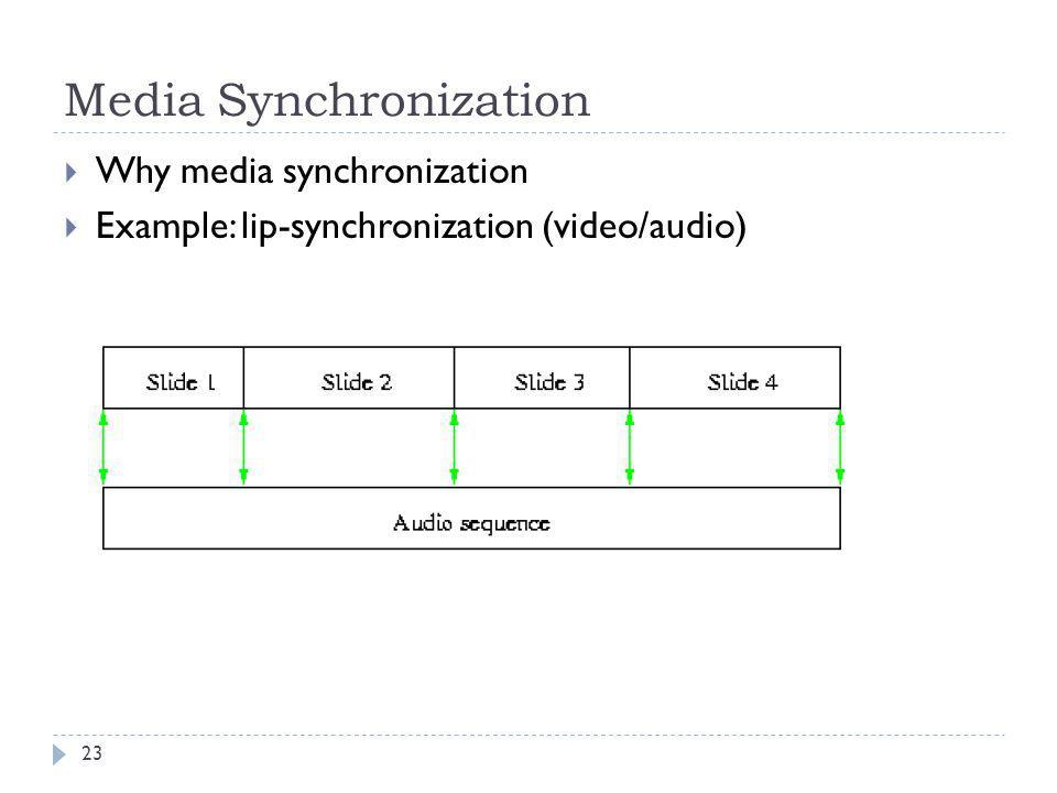 Media Synchronization