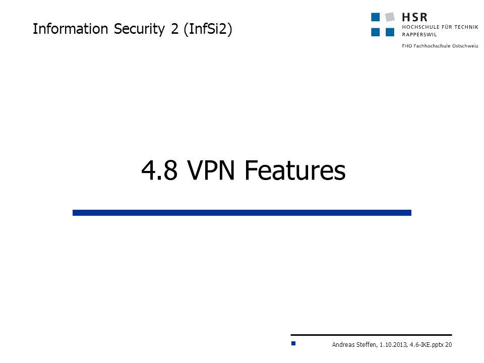 Information Security 2 (InfSi2)