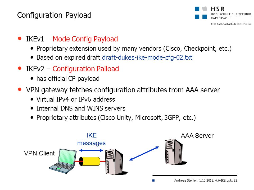 Configuration Payload