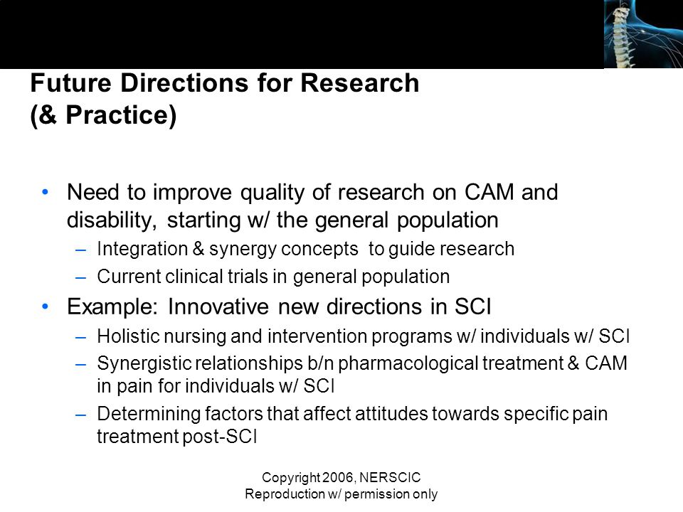 Future Directions for Research (& Practice)
