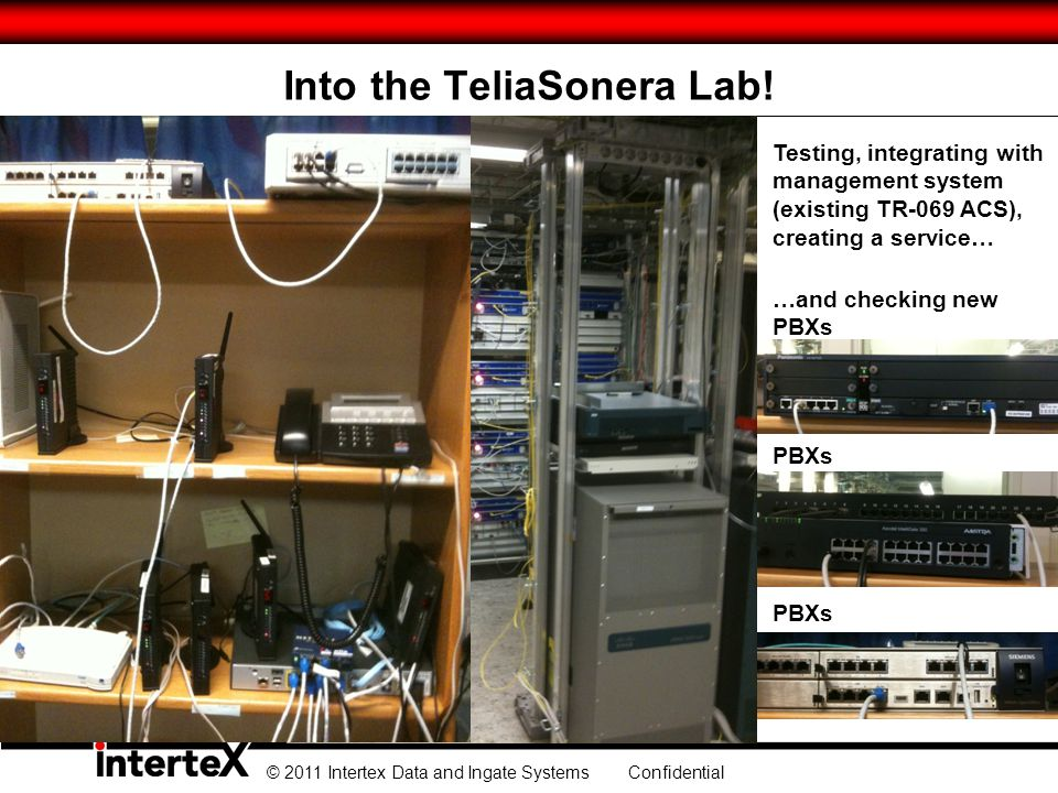 Into the TeliaSonera Lab!