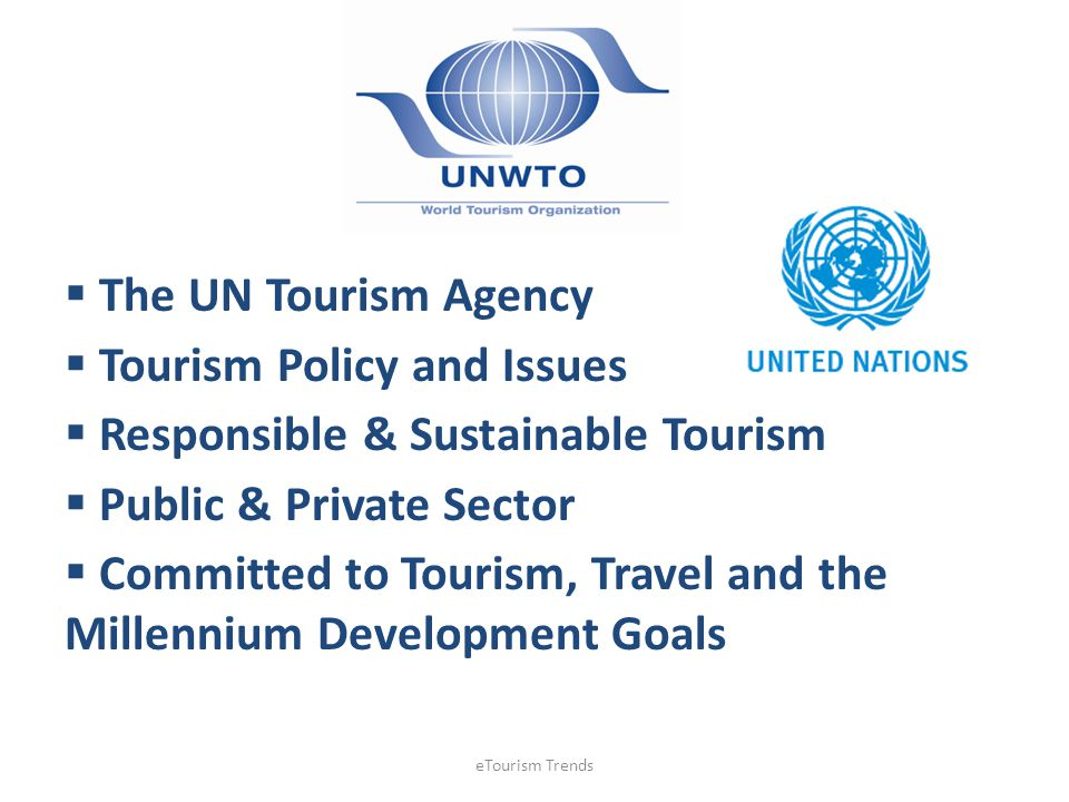 Tourism Policy and Issues Responsible & Sustainable Tourism