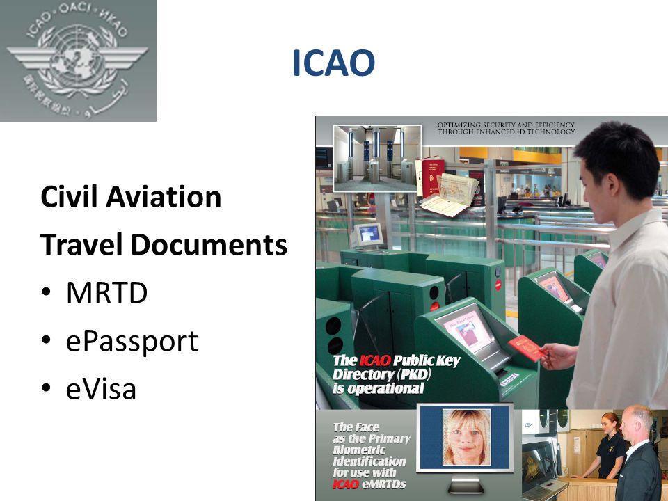 ICAO Civil Aviation Travel Documents MRTD ePassport eVisa