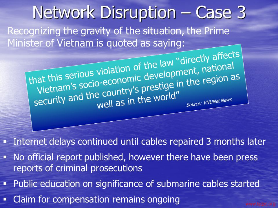 Network Disruption – Case 3