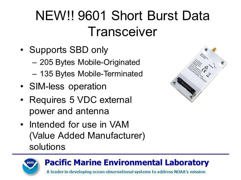 NEW!! 9601 Short Burst Data Transceiver