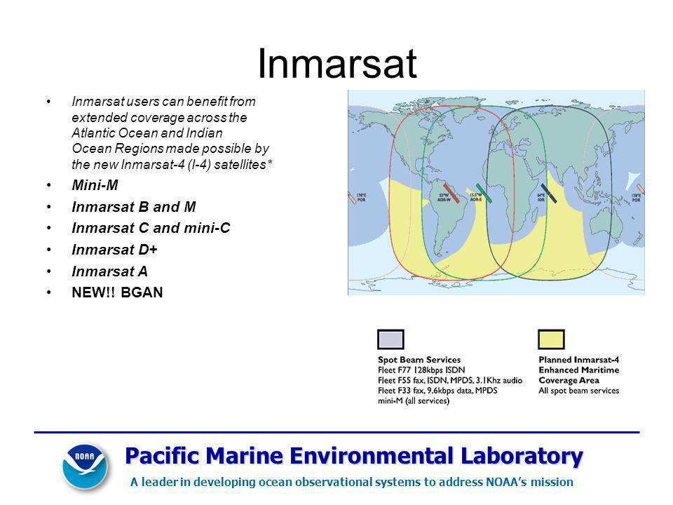 Inmarsat Pacific Marine Environmental Laboratory Mini-M