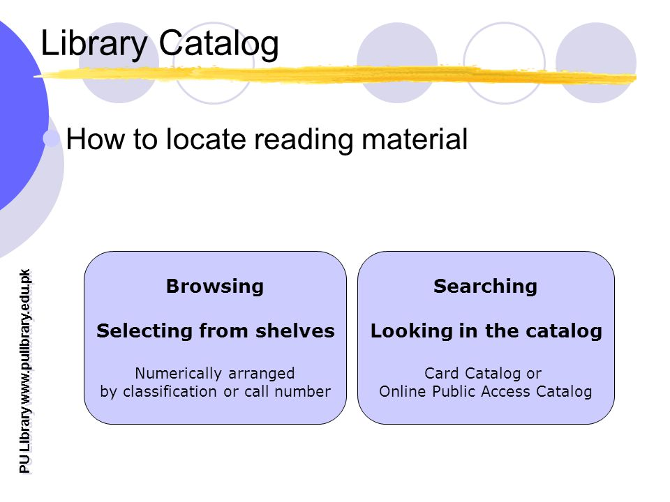 Selecting from shelves