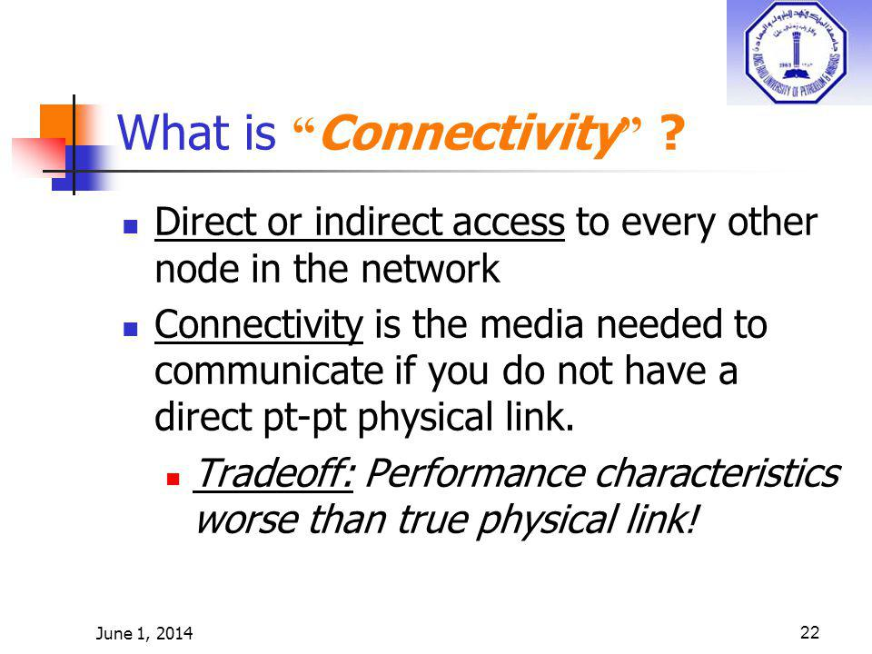 What is Connectivity