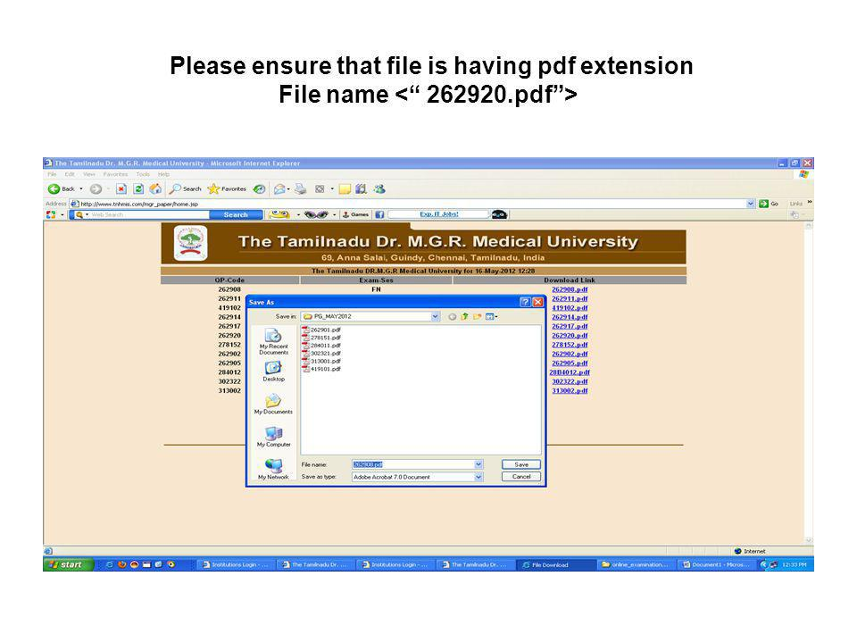 Please ensure that file is having pdf extension File name < 262920