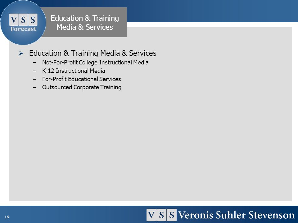 Education & Training Media & Services