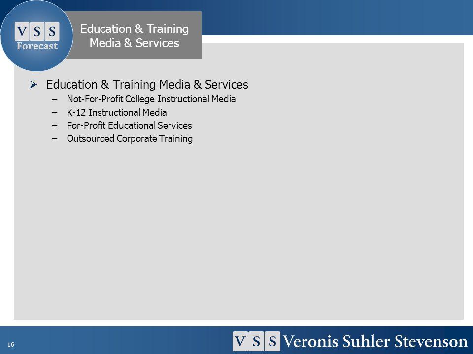 Education & Training Media & Services