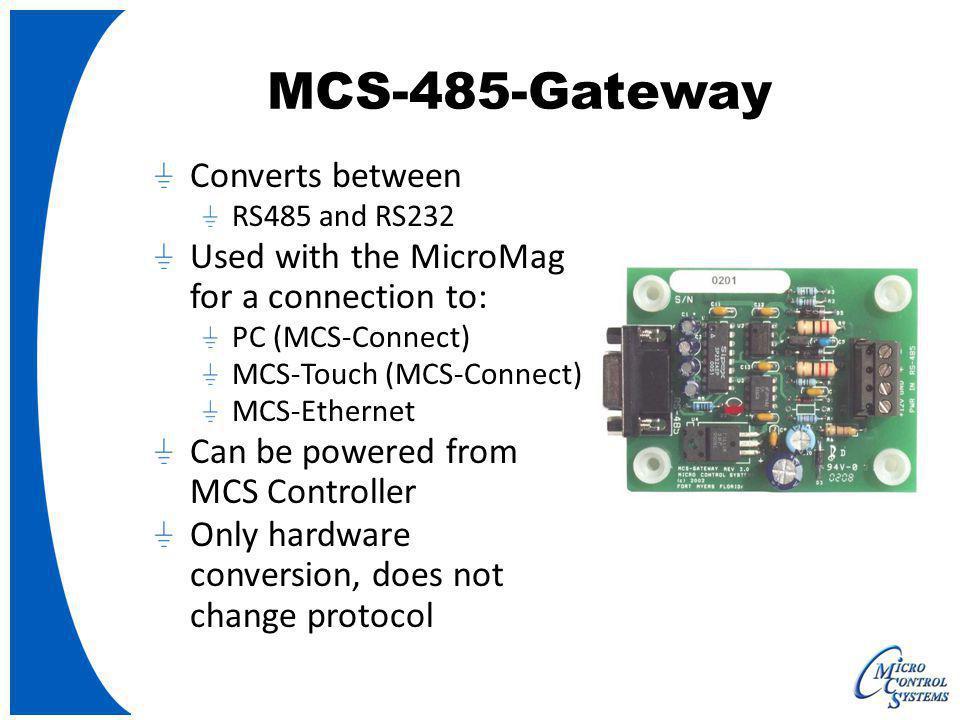MCS-485-Gateway Converts between