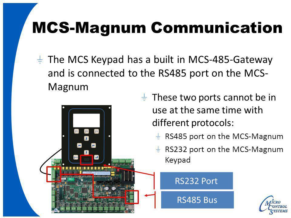 MCS-Magnum Communication