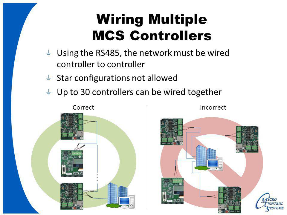 Wiring Multiple MCS Controllers