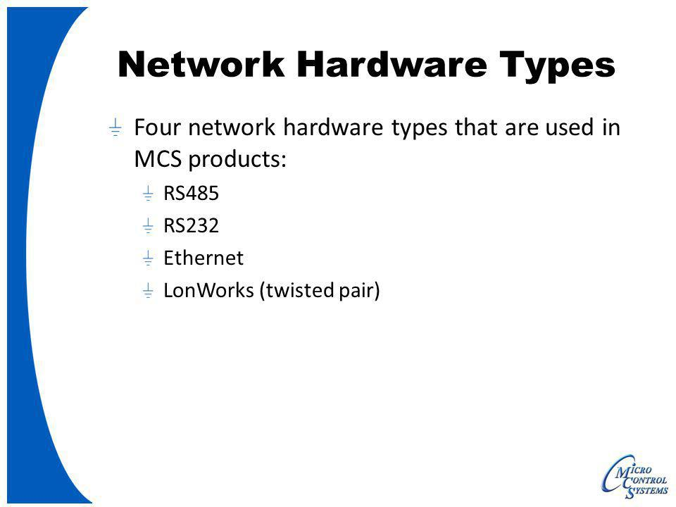Network Hardware Types