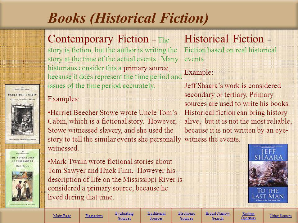 Books (Historical Fiction)
