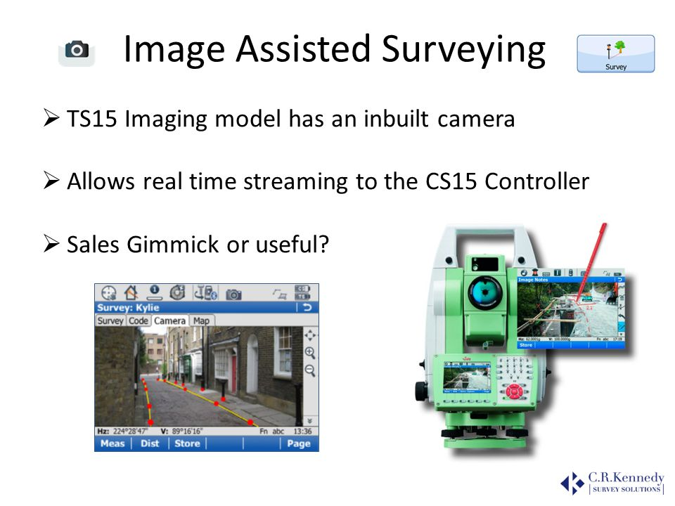 Image Assisted Surveying
