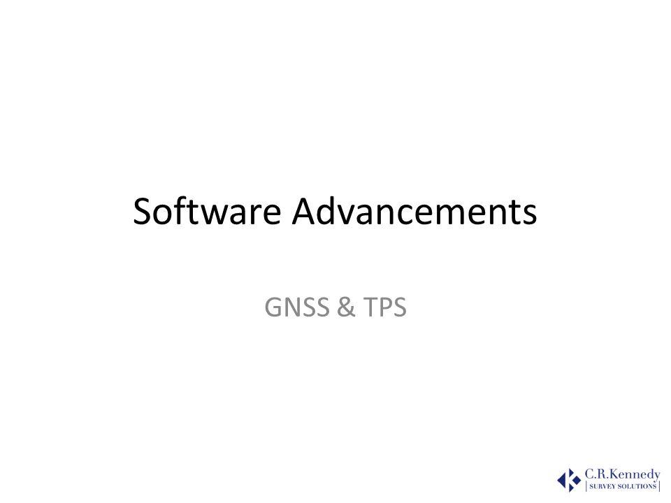 Software Advancements