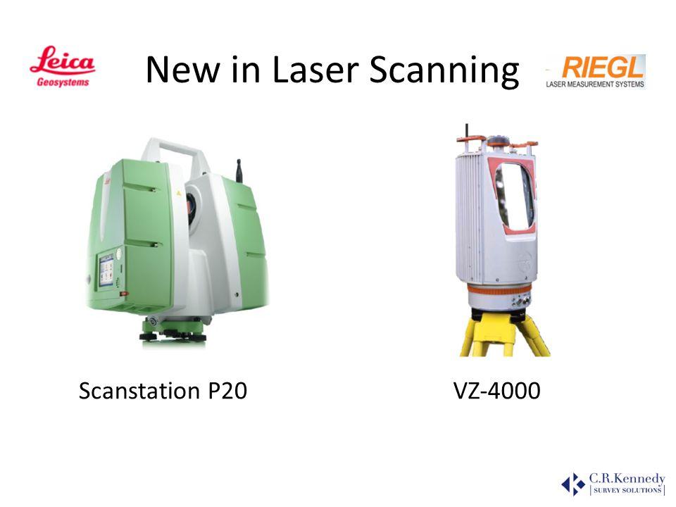 New in Laser Scanning RiMining Scanstation P20 VZ-4000