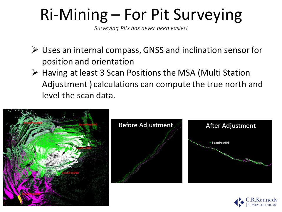 Ri-Mining – For Pit Surveying Surveying Pits has never been easier!