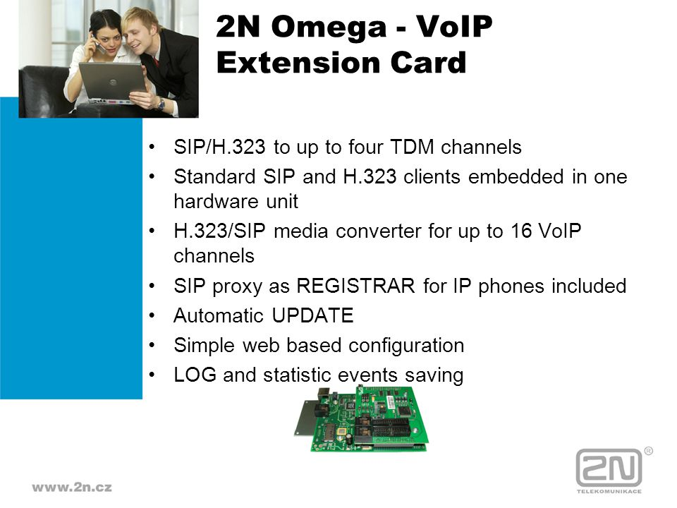 2N Omega - VoIP Extension Card