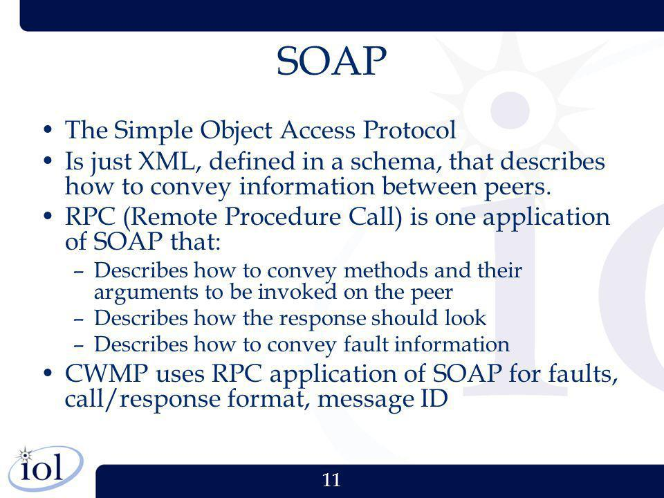 SOAP The Simple Object Access Protocol