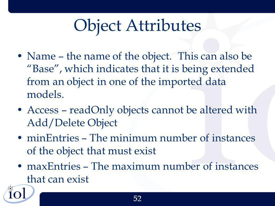 Object Attributes