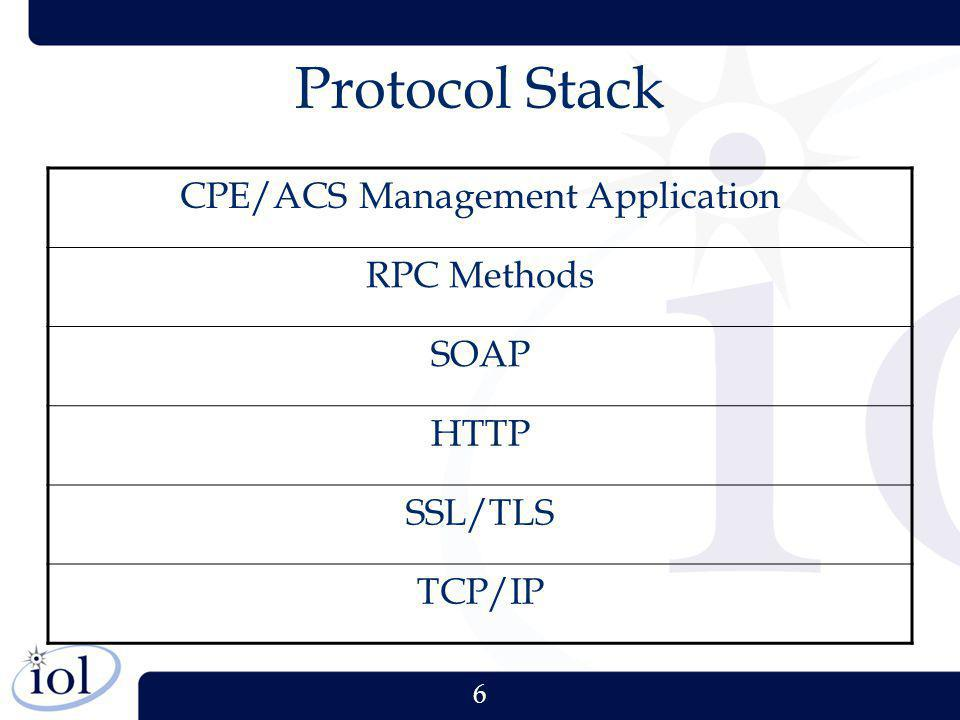 CPE/ACS Management Application