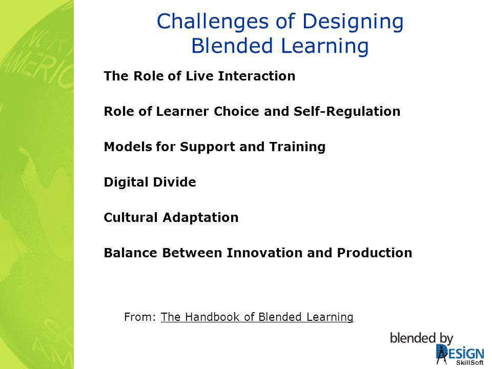 Challenges of Designing Blended Learning