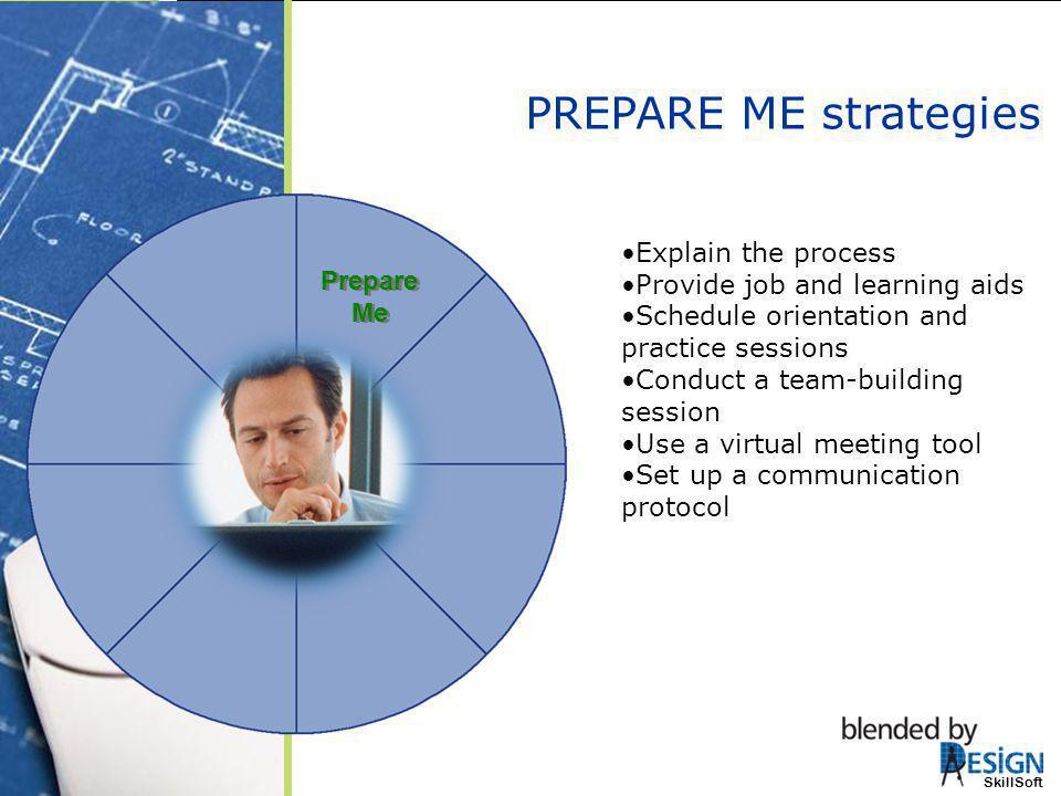 PREPARE ME strategies Explain the process
