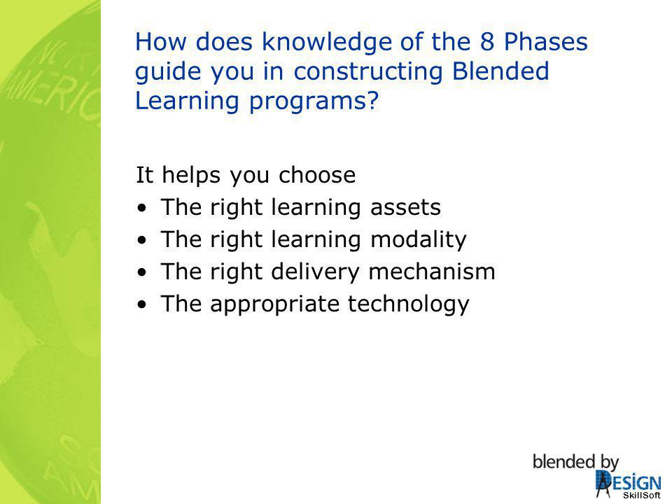 How does knowledge of the 8 Phases guide you in constructing Blended Learning programs