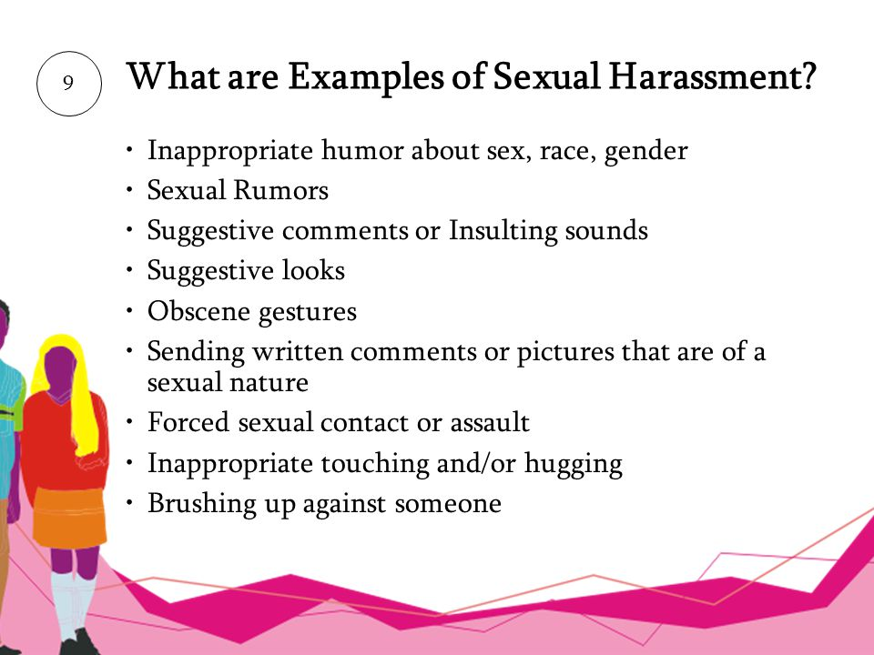 What are Examples of Sexual Harassment