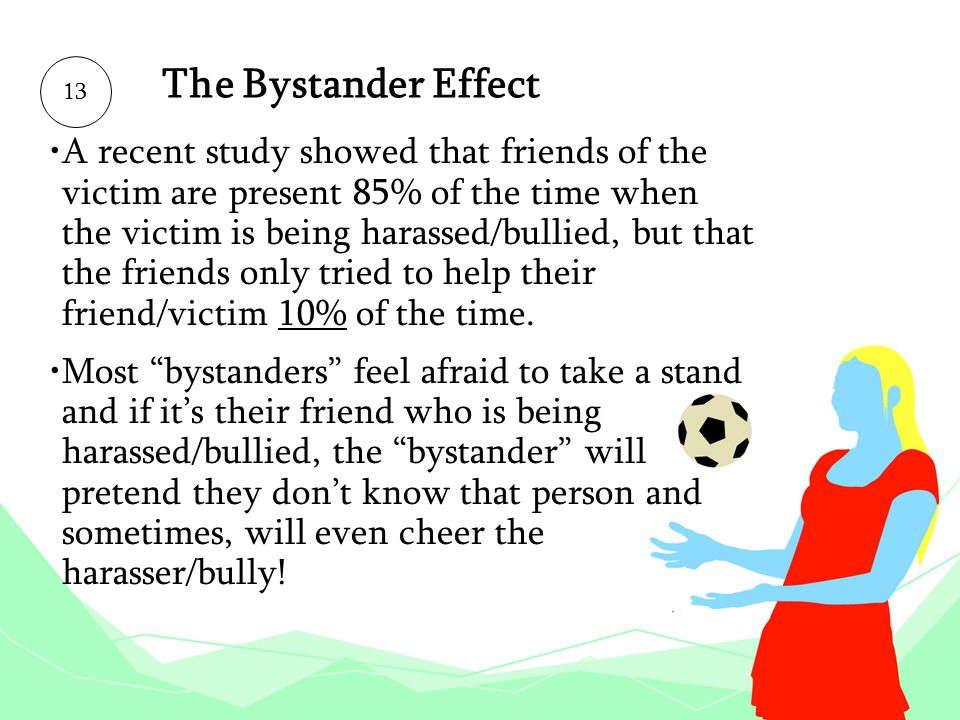 The Bystander Effect 13.
