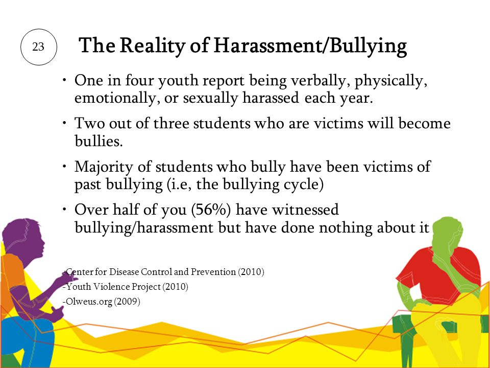 The Reality of Harassment/Bullying