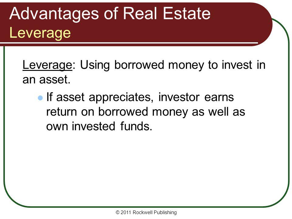 Advantages of Real Estate Leverage