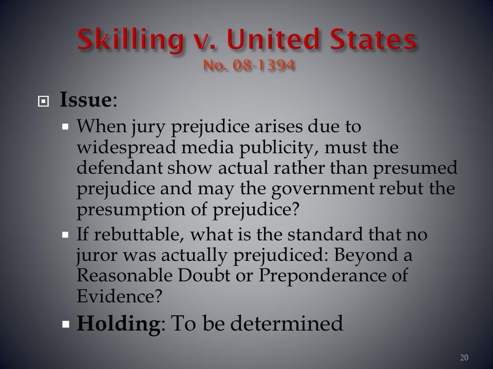 Skilling v. United States No. 08-1394