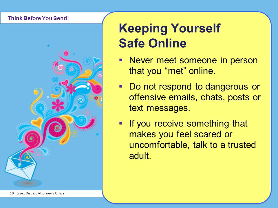 Keeping Yourself Safe Online