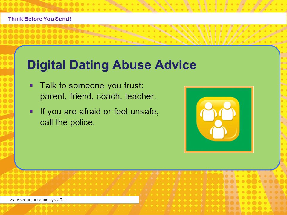 Digital Dating Abuse Advice
