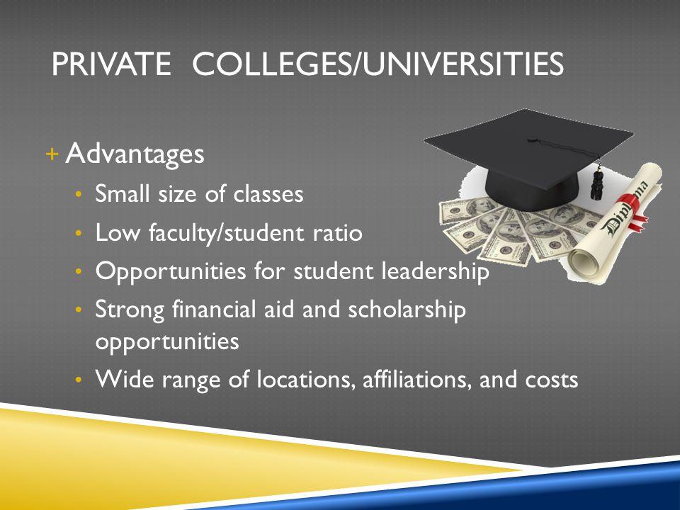 Private Colleges/Universities