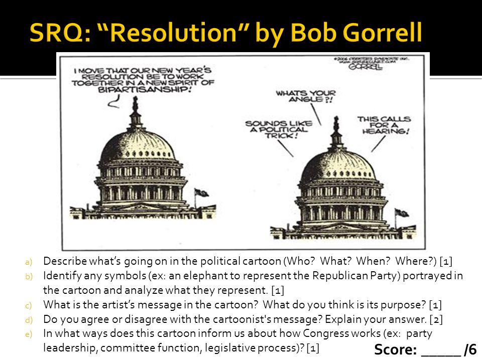 SRQ: Resolution by Bob Gorrell