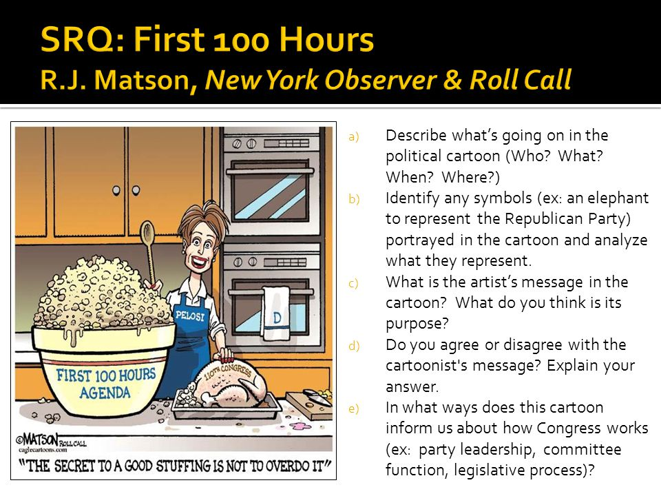 SRQ: First 100 Hours R.J. Matson, New York Observer & Roll Call