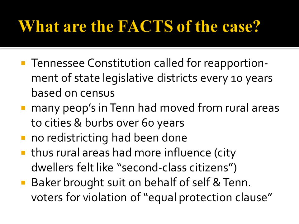 What are the FACTS of the case